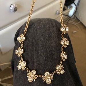 J crew bumblebee gold and SC designer necklace